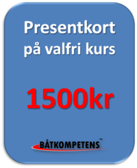 Presentkort 1500kr