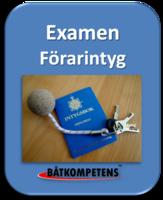 Examination Förarintyget 2018 boka tid!