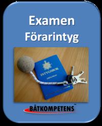 Examination Förarintyget 2016 boka tid!